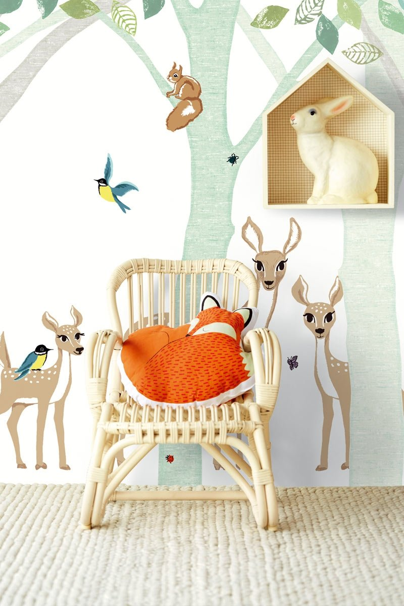 carta da parati eijffinger bambi