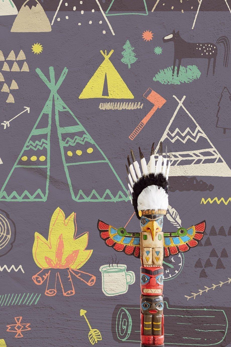 carta da parati eijffinger indiani