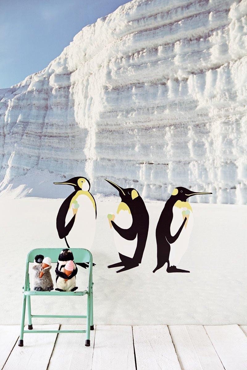 carta da parati eijffinger pinguini
