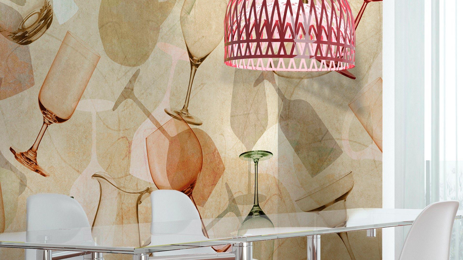 Beautiful Carta Da Parati Cucina Moderna Pictures - House Interior ...